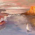 Calpe At Sunset by Miki De Goodaboom