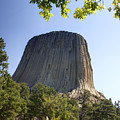 Can You Find The Climbers On Devils Tower Wyoming -1 by Paul Cannon