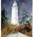 Cana Island Light House by Ken Marsden
