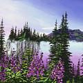 Canadian Sunrise by David Lloyd Glover