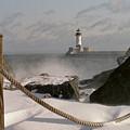 Canal Park Lighthouse by Heidi Hermes