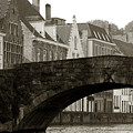 Canal View Of Bruges by Jan Kapoor