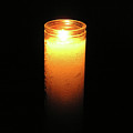 Candle In The Dark by Richard Mitchell