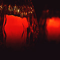 Candle Reflected by Barry Shaffer