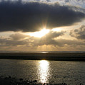 Cannon Beach Sunburst by Will Borden