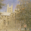 Canterbury Cathedral by Albert Goodwin