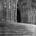 Canterbury Cathedral Choir Entrance Canterbury England by Richard Singleton