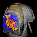 Canvas Back Pack by Ree Vilomar