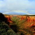 Canyon Rainbow by Ellen  Leigh