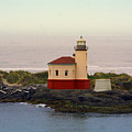 Cape Blanco Lighthouse Li 8000 by Mary Gaines