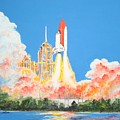 Cape Canaveral by Dennis Vebert