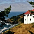 Cape Foulweather Point by Marilyn Smith