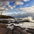 Cape Neddick Maine by Rick Berk