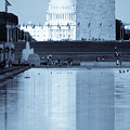 Capitol Reflections Iv by Irene Abdou