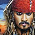 Captain Jack by Arie Van der Wijst