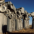 Carhenge In The Afternoon by Jerry McElroy