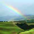 Carmel Valley Rainbow by Charlene Mitchell