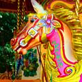 Carousel Horse London Alfie England by Heather Lennox