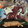 Cat Dreams II by Tom Durham