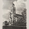 Cathedral Of St John The Evangelist by Ron Landry