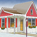 Catonsville Santa House by Stephen Younts