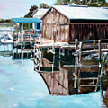 Cedar Key Reflections 2 by Greg Morris