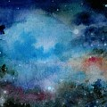 Cerulean Space Clouds by Janet Hinshaw