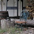 Chair In The Shed by Janis Beauchamp