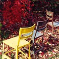 Chairs by Evelynn  Eighmey