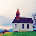 Chapel On A Hill by Chuck Shafer