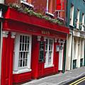 Charming Narrow Street In Kinsale by George Oze