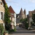 Chateauneuf En Auxois Burgundy France by Marilyn Dunlap
