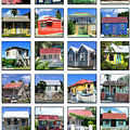 Chattel Houses Of Barbados by Barbara Marcus