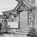 Chenango Street Binghamton Ny by John Clum
