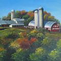 Cherry Hill Farm Lunenburg Ma by Oksana Zotkina