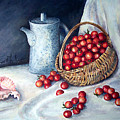 Cherry Tomatoes by Anne Rhodes