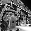 Chesapeake And Ohio Steam Engine by James Rasmusson