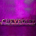 Chevrolet Pink by Tina B Hamilton