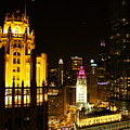 Chicago At Night  by Jacob Stempky