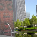 Chicago Crown Fountain 8 by Jean Macaluso