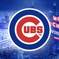 Chicago Cubs Baseball by Nicholas Legault