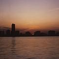 Chicago Sunset by Gary Wonning