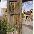 Chimayo Gate by Judy Deist