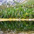Chimney Pond Reflections 2 by Glenn Gordon