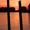 Chincoteague Sunset by Tom McElvy