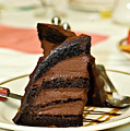 Chocolate Mousse Cake by Carolyn Marshall