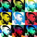 Chris Brown Warhol By Gbs by Anibal Diaz