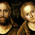 Christ And Mary by Lucas Cranach the Elder