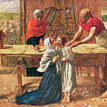 Christ In The House Of His Parents by JE Millais and Rebecca Solomon