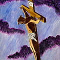 Christ On The Cross by Michael Vigliotti